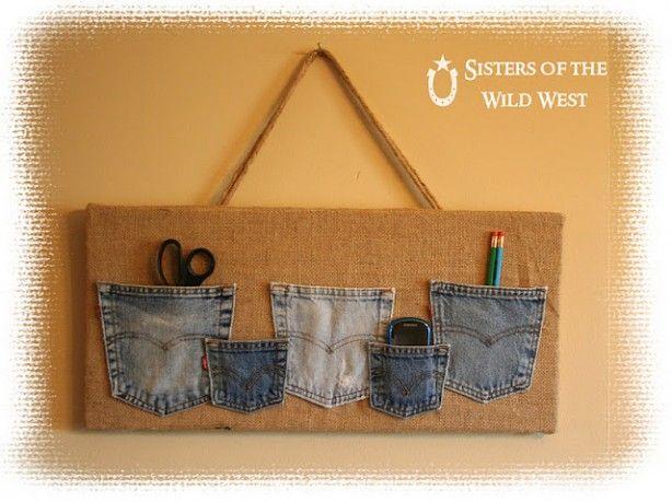 oude spijkerbroek zakken