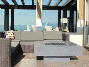 Grey Fire Table