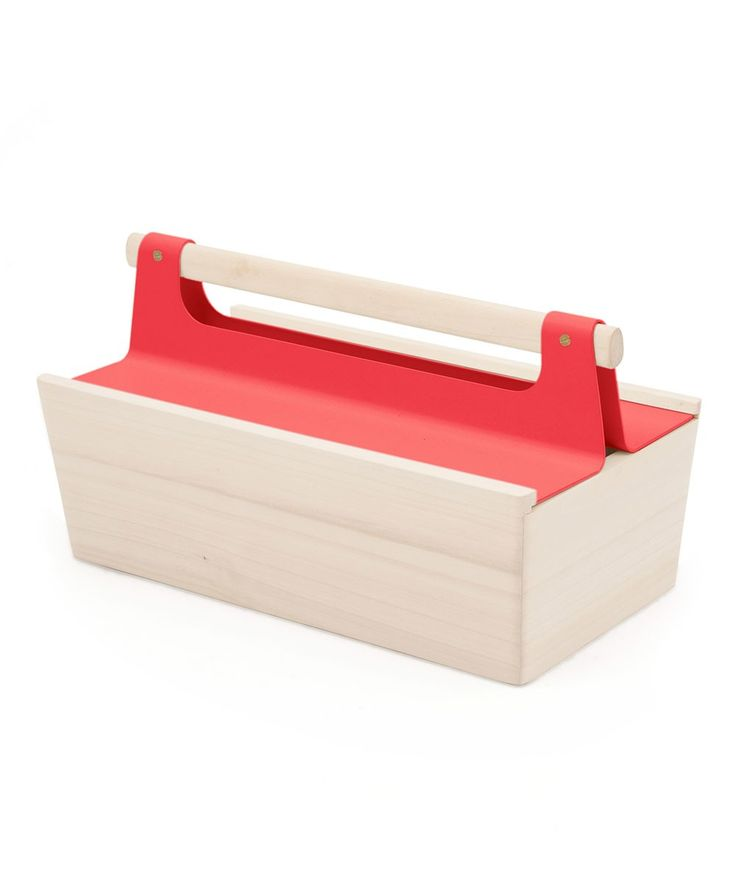 Harto Louisette Toolbox Red. | http://www.huntingforgeorge.com