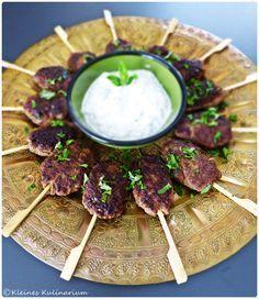 Türkische Köfte - perfekt für jede Party
