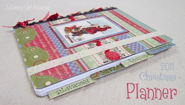 How to make a Christmas Planning folder (blog helps plan Christmas too) :-)