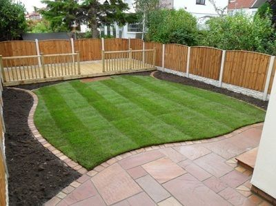 25 best ideas about small yard landscaping on pinterest for Hard landscaping ideas