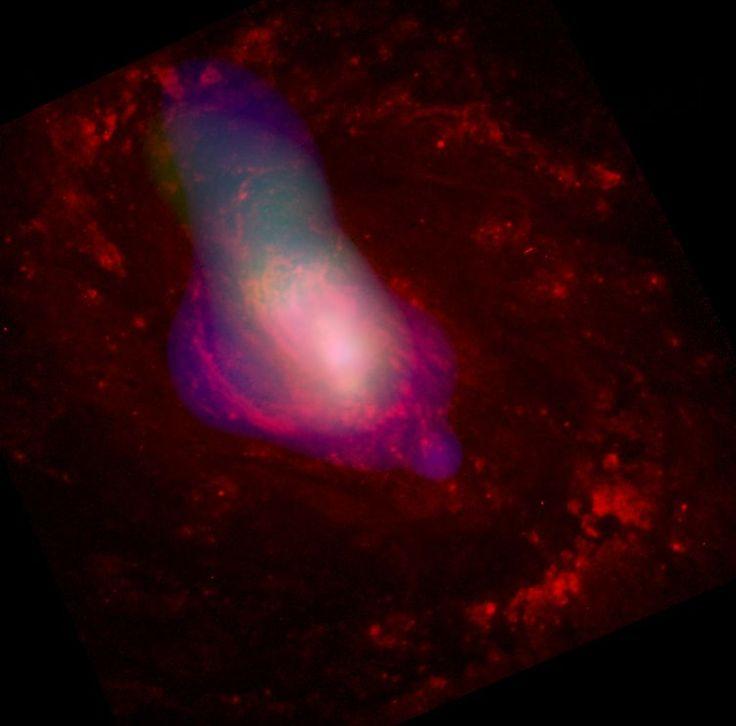 ブラックホールの「げっぷ」が星形成を終わらせる