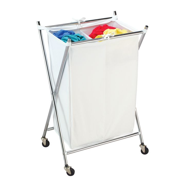 Folding Double Hamper - Solutions - Your Organized Living Store