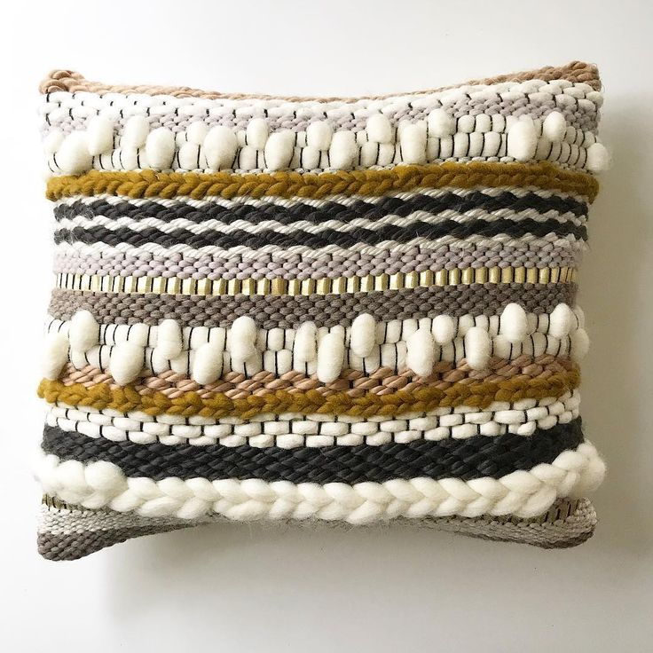 Definitely a favorite of mine from our new handwoven pillow collection- launching this Friday the 16th! 8 new styles- available in multiple sizes- accent color customizable. ✌▫️▪️✨ . . . . . . #weaving #woven #handmade #buyhandmade #fiberart #loom #woventextiles #textiles #wovenart #homedecor #interiordecor #sunwoven #charleston #shopsmall