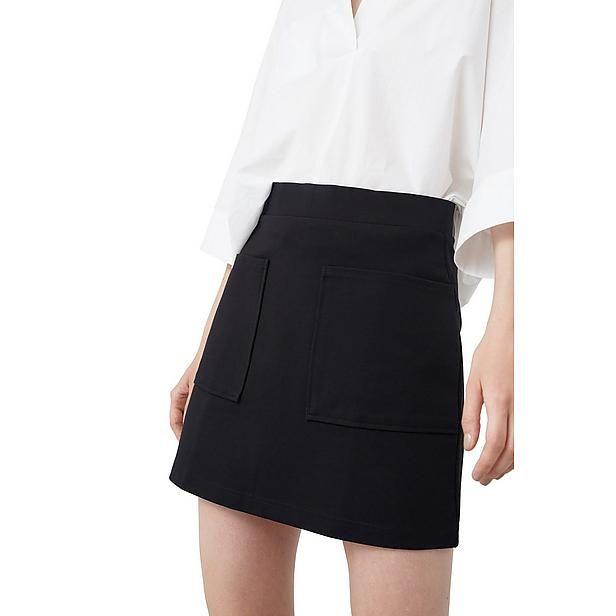 #minirok #miniskirt #mango #wehkamp #zwartwit #outfit
