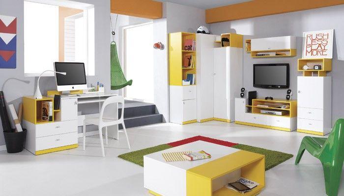 Luxusní PC stůl Mobi je skvělým místem na práci i zábavu. Svým svěžím designem a barvami oživí každý pokoj. Vyvýšený okraj zabraňuje zapadnutí věcí za stůl....