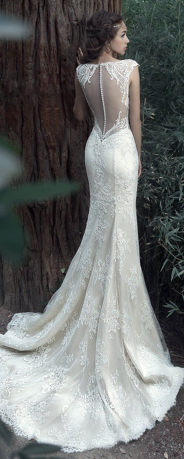 Milva 2017 Wedding Dress – Arwen Collection Visit: https://www.braceletstyle.com/products/haotaitai-high-quality-white-6-hoops-petticoat-crinoline-slip-underskirt-wedding-dress-bridal-gown