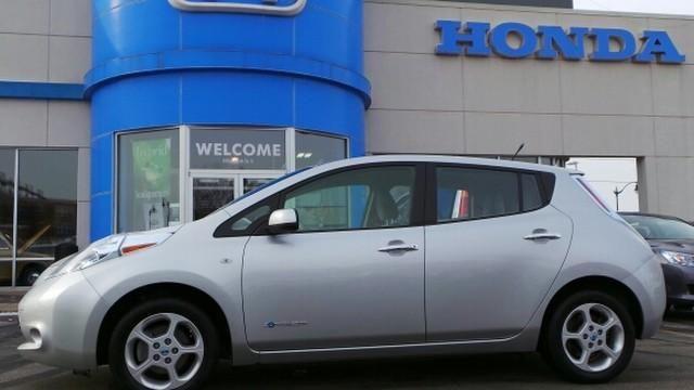 2012 Nissan LEAF at Honda Motorwerks