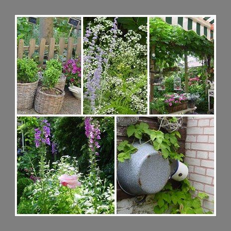 Engelse cottage garden