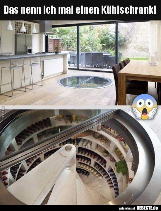 Das nenn ich mal einen Kühlschrank! | Lustige Bilder, Sprüche, Witze, echt lus…