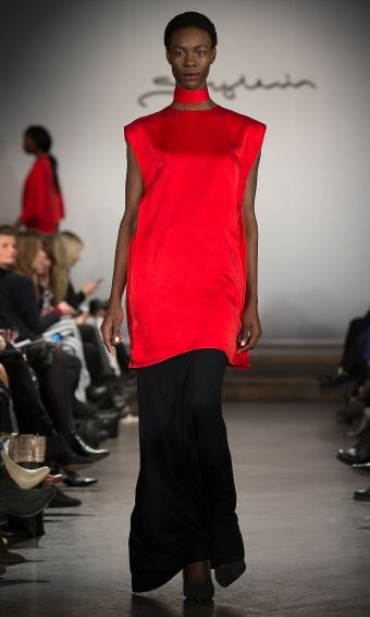 Stylein AW14 love the bright red