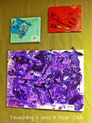 Color Art Ideas For Preschoolers : 129 best process art activities preschool images on pinterest