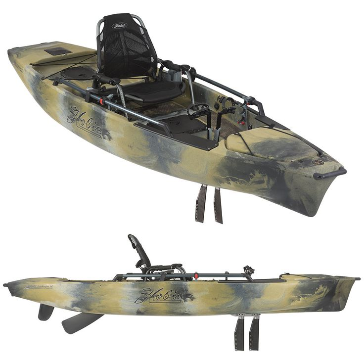 Hobie Kayaks Pro Angler 14 at Kayakshed.com. If you've sold your powerboat and are ready to start kayak fishing, or you're looking for a large fishing platf