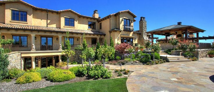 Tuscan Hilltop Estate with Views - @J. Rockcliff Realtors (Blackhawk, CA)