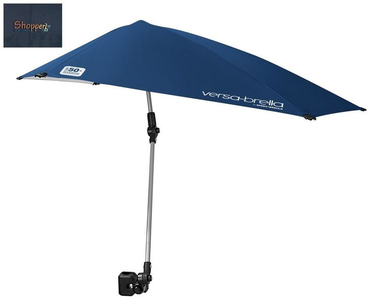 Beach Camping Fishing Clamp On Outdoor Folding Chair Umbrella Patio Sun  Shade