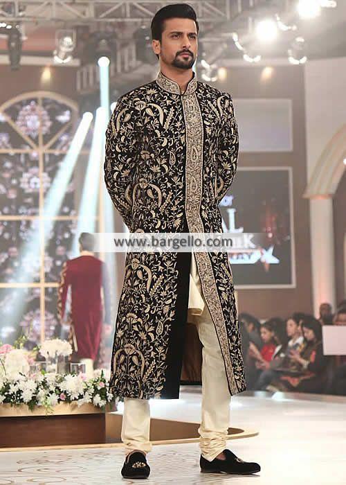 Pakistani Wedding Sherwani Suits Edison New Jersey NJ USA M998 New Arrivals