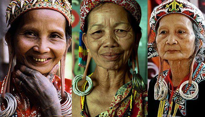 Wanita Suku Dayak - Sumber Gambar cheese.formice.com
