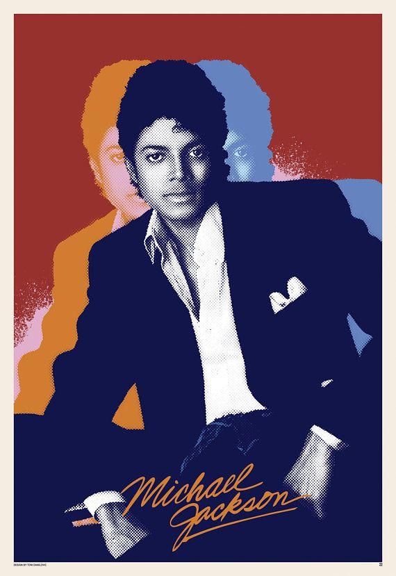 Michael Jackson Michael Jackson Poster King Of Pop Pop Art