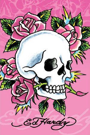 ed hardy skull designs - Google Search