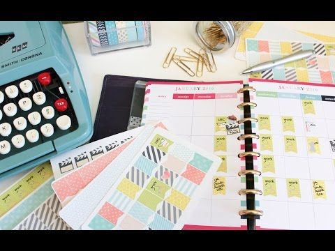 Best 25 custom planner ideas on pinterest life planner for Design my own planner