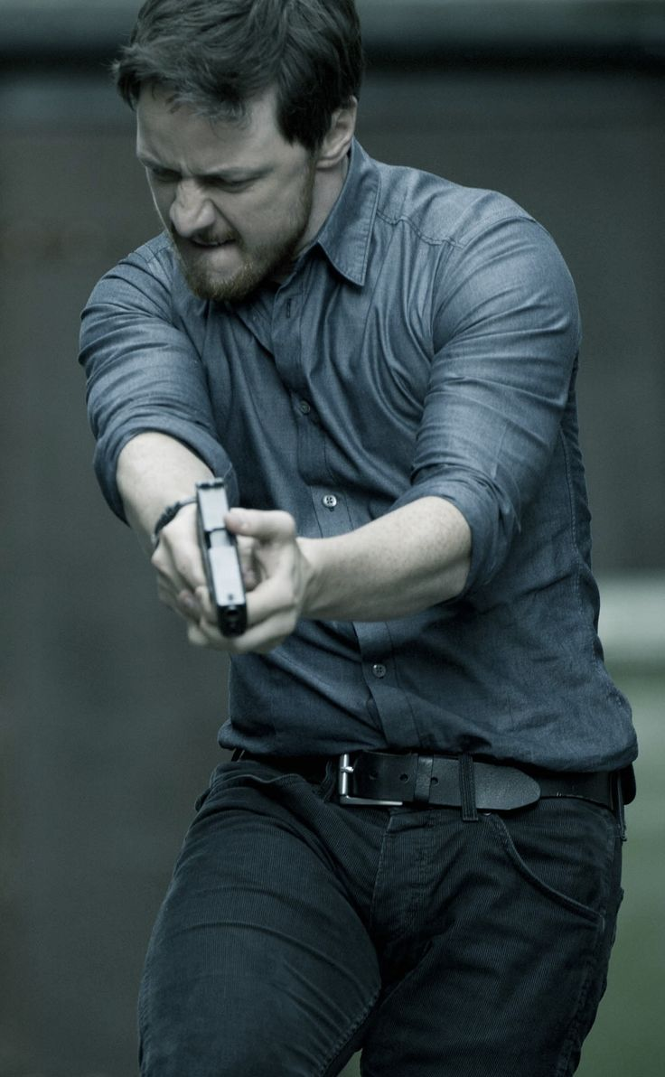 James McAvoy. welcome to the punch