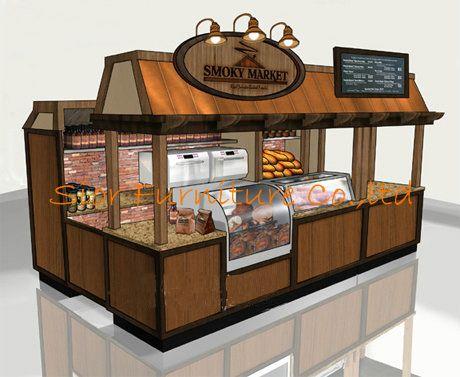 Fruit Juice Kiosk Design For Sales Coffee Kiosk