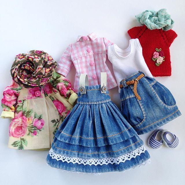 Одежда для куклы Блайз, сделано на заказ. #blythe #blythegram #blythedoll #обувьдлякукол #одеждадляблайз #модно #стильно #одеждадлякукол #деним