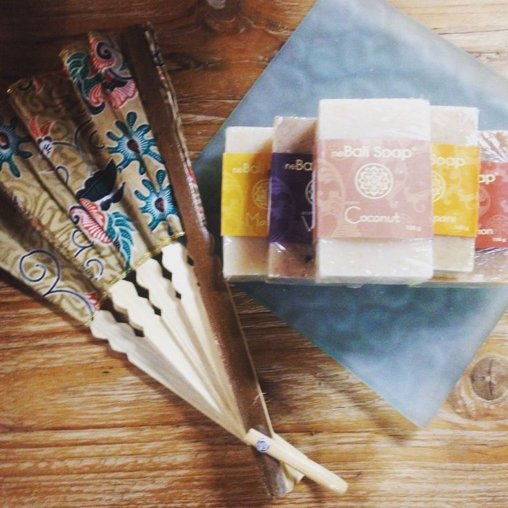 Bali Soap. All natural, no chemicals, beautiful scents.