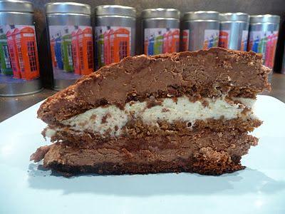 Fromage ou Dessert ? ... DESSERT !!!: Craquant aux deux chocolats et à la noisette