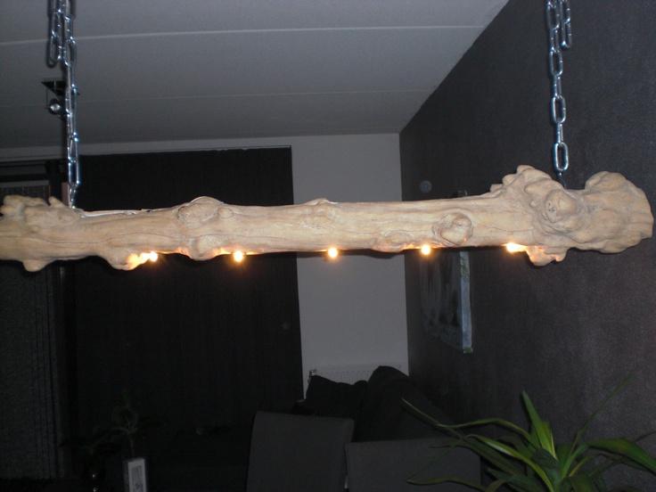 Homemade lamp