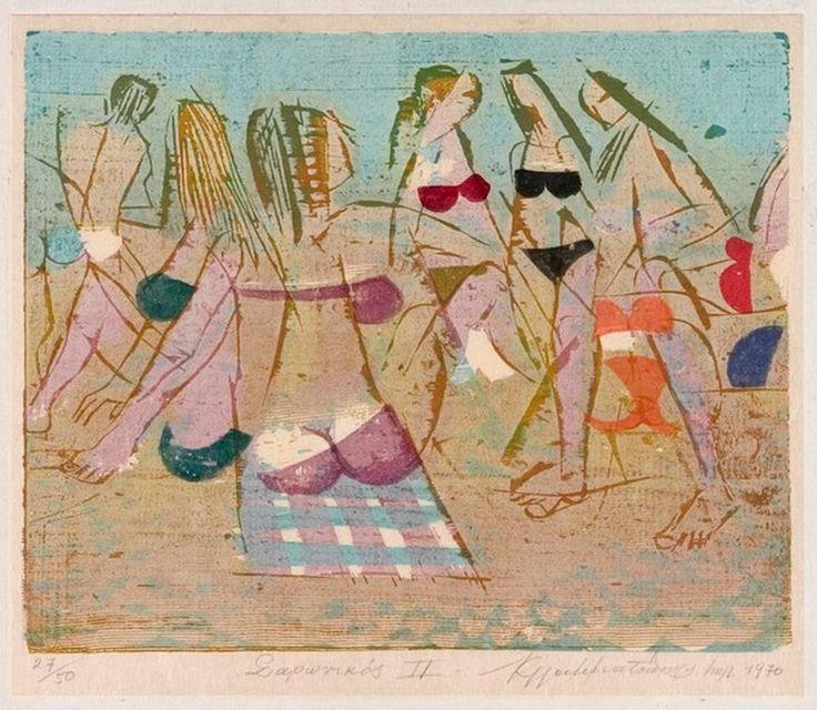 Ο Κωνσταντίνος Γραμματόπουλος γεννήθηκε στην Αθήνα τον Σεπτέμβριο του 1916. Το 1934 εισάγεται στην Ανωτάτη Σχολή Καλών Τεχνών της Αθήνας, όπου σπούδασε ζωγραφική στο εργαστήρ…