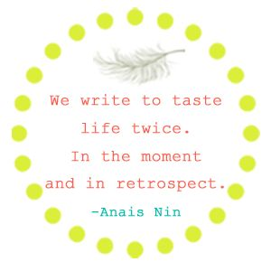 Assertion journal quote by anais nin essay