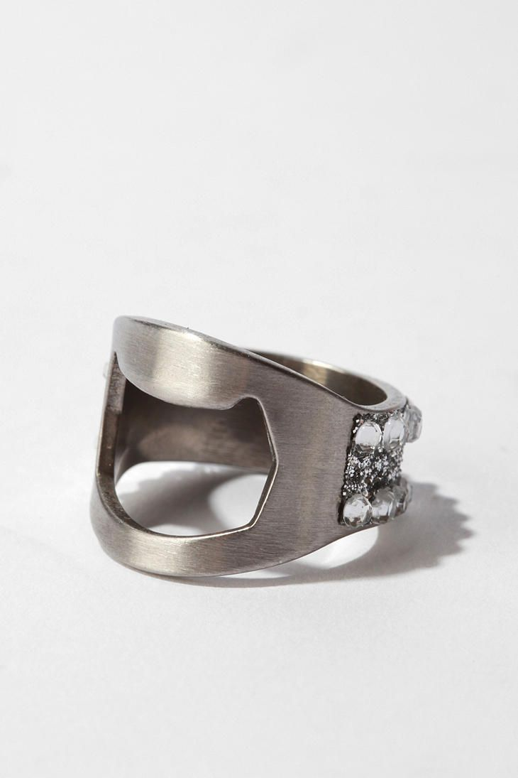the 25 best bottle opener ring ideas on pinterest hidden knife jewelry best self defense and. Black Bedroom Furniture Sets. Home Design Ideas