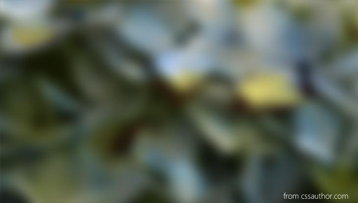 Green Blured Background PSD - cssauthor.com