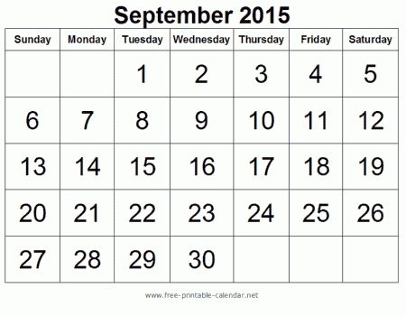 17 Best Printable Calendar Images On Pinterest Blank Calendar