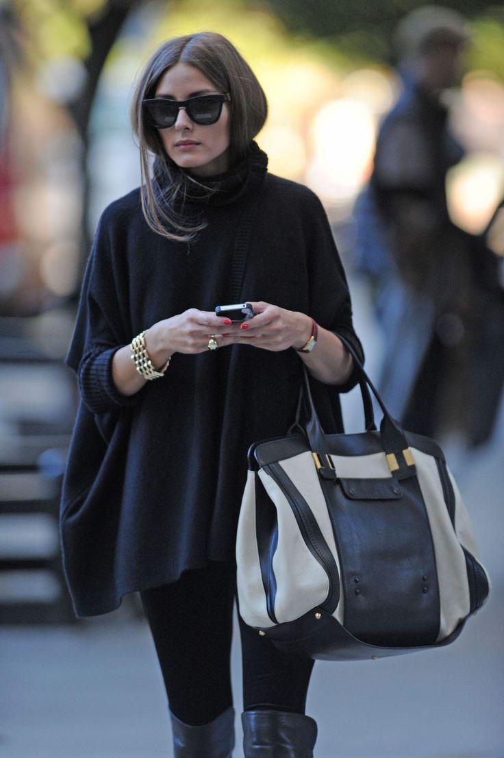 Olivia Palermo carrying Chloe 'Alice' bag - THE OLIVIA PALERMO LOOKBOOK