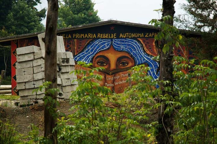 67 best images about arte zapatista on pinterest masks for Mural zapatista