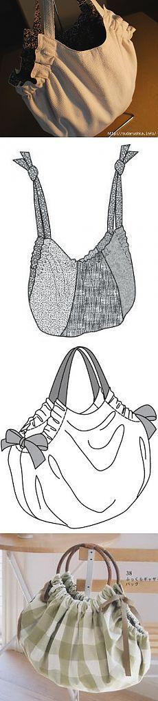 Отличная сумка с выкройкой и порядком выполнения работ