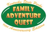 Looking for a challenge and also win prizes while doing it? Consider the 2014 Kentucky State Park's Family Adventure Quest that you complete at your own pace.   Challenges will take your team to various parks and historic sites in search of your next adventure and photo op!