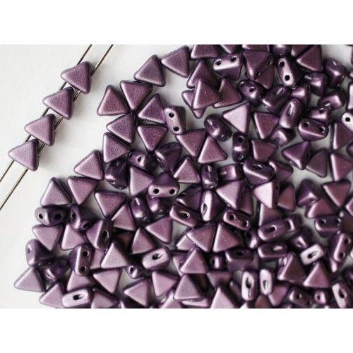 http://www.scarabeads.com/Glass-BEADS/Kheops-par-Puca/Metallic-Mat/50pcs-Kheops-par-Puca-6mm-2-hole-Czech-Glass-Pressed-Beads-Metallic-Mat-Dark-Plum