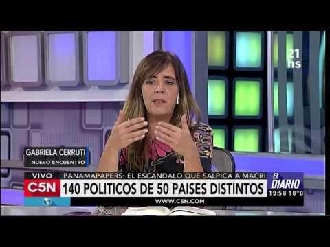 C5N - Panama Papers: Entrevista a Gabriela Cerruti