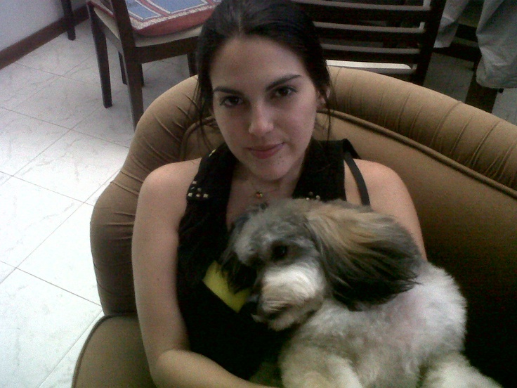 con Maria Alejandra Restrepo