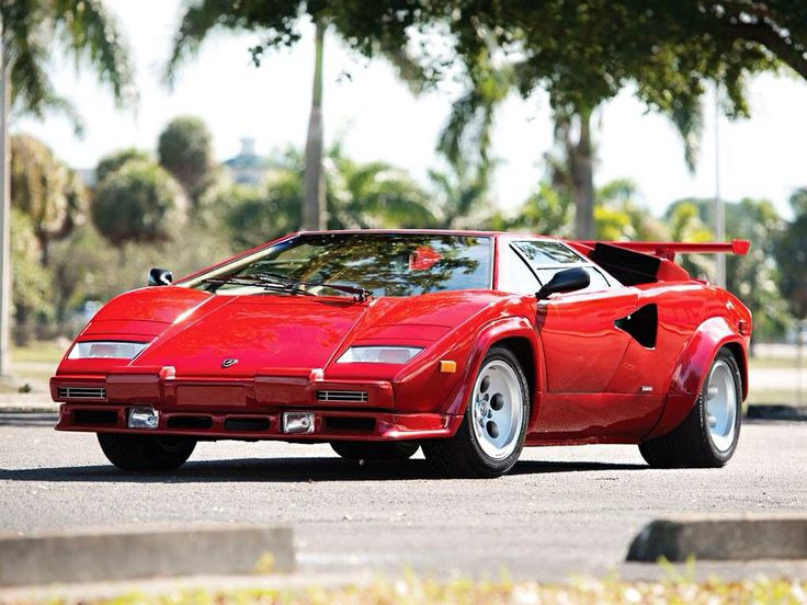 Fighting Bull   1986 Lamborghini Countach 5000 Quattrovalvole   SCD Motors    The Sports, Racing And Vintage Car Market