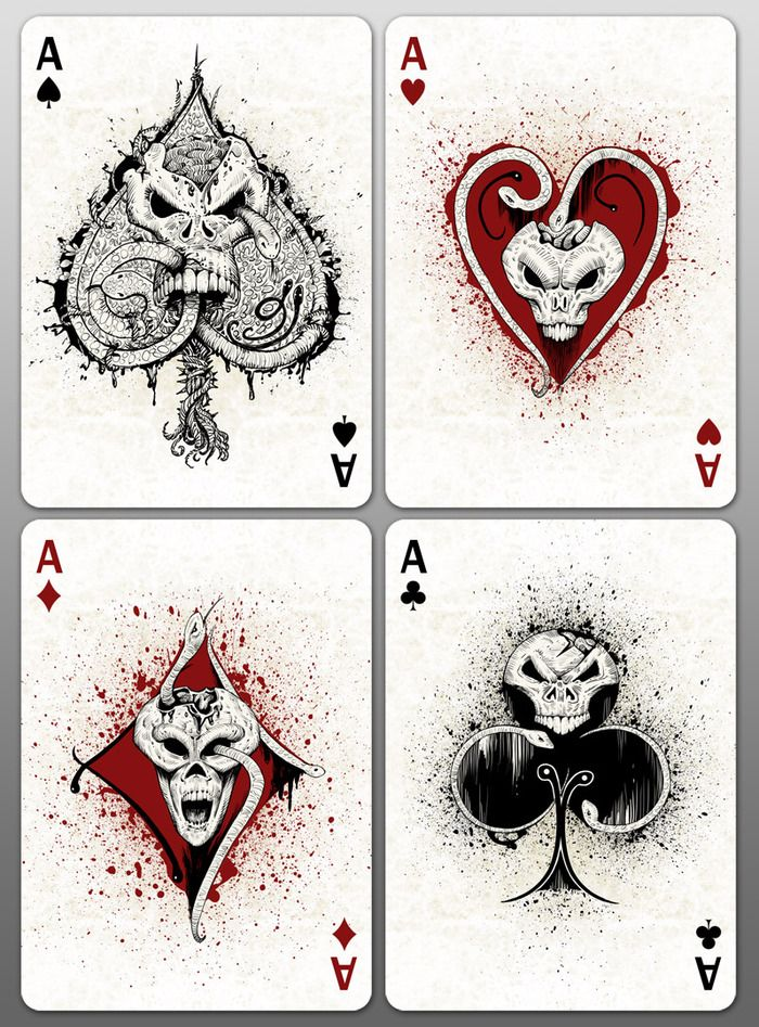Bicycle Creepy Playing Cards by Collectable Playing Cards — Kickstarter