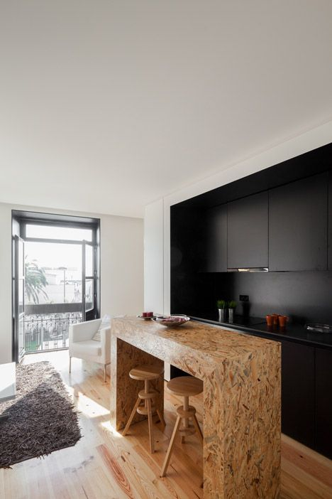 OODA completes modern renovation behind tiled facade