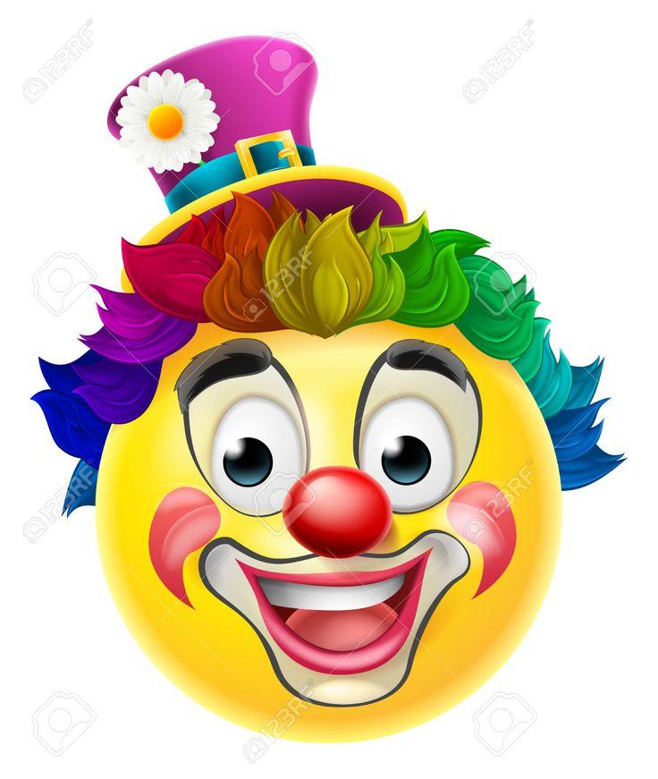 49395246-Un-emoticon-emoji-car-cter-cara-sonriente-payaso-de-la-historieta-con-una-nariz-roja-peluca-arco-iri-Foto-de-archivo.jpg (1098×1300)
