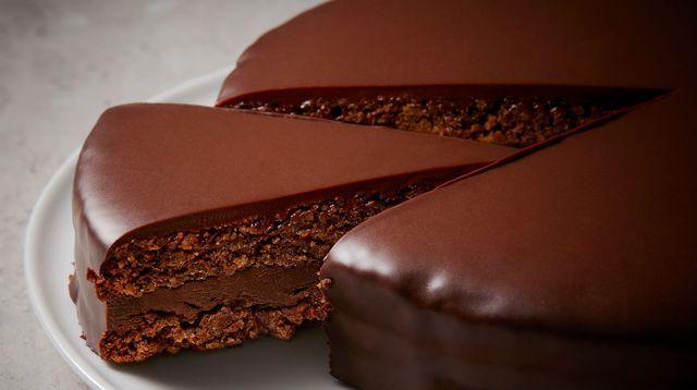 Gâteau d'anniversaire au chocolat doux de Philippe Conticini