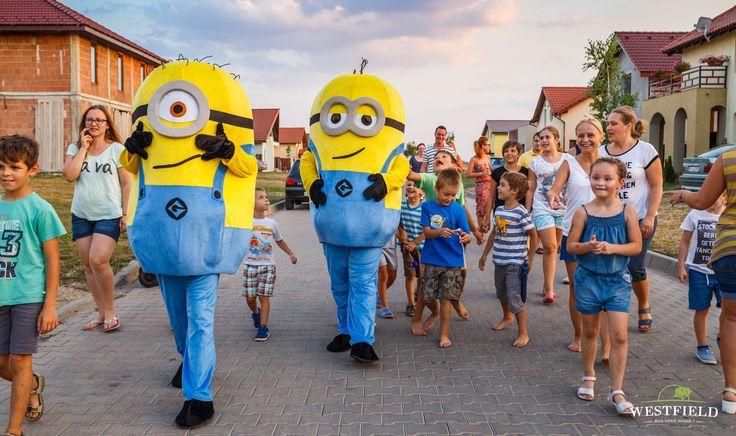 Minions in Westfield Arad. #westfield #minions #movieNight #happyLife #happiness #kids #fun #family