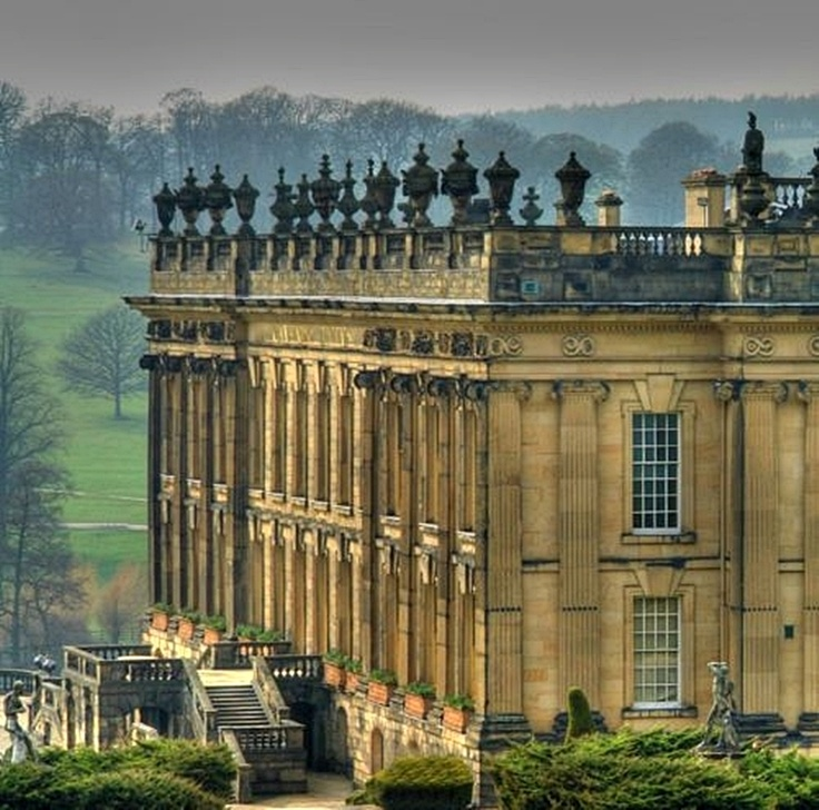 Chatsworth House , North Derbyshire, England
